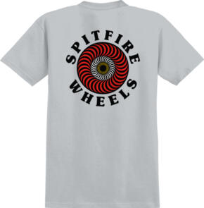 SPITFIRE OG CLASSIC FILL SILVER W/ RED/WHITE/YELLOW PRINTS