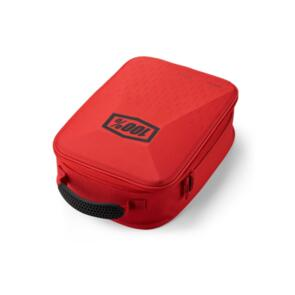 100% GOGGLE CASE - RED/BLACK OSFM