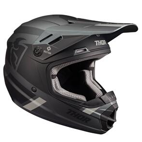 THOR 2022 YOUTH SECTOR SPLIT MIPS CHARCOAL BLACK