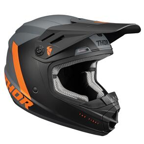 THOR 2022 YOUTH SECTOR CHEV CHARCOAL ORANGE