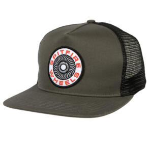 SPITFIRE CLASSIC 87' SWIRL PATCH CHARCOAL/BLACK
