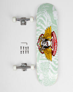 POWELL PERALTA WINGED RIPPER WHITE CUSTOM SKATEBOARD 8