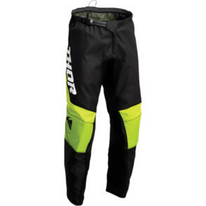 THOR 2022 SECTOR YOUTH CHEVRON PANT BLACK/GREEN