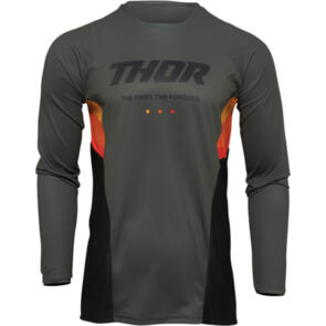 THOR 2022 JERSEY PULSE REACT ARMY/BLACK