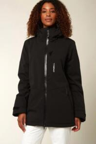 ONEILL 2021 WOMENS APO JACKET BLACK OUT