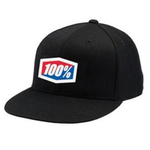 100% ESSENTIAL HAT BLACK