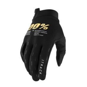 100% 2021 ITRACK GLOVES BLACK YOUTH