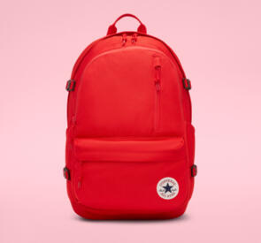 CONVERSE SKATE STRAIGHT EDGE BACKPACK UNIVERSITY RED
