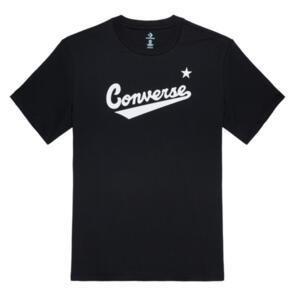 CONVERSE SKATE NOVA CENTER FRONT TEE CONVERSE BLACK
