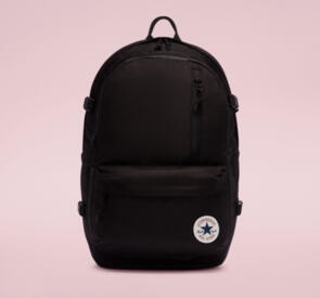 CONVERSE STRAIGHT EDGE BACKPACK BLACK
