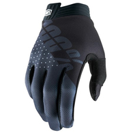 100% 2020 ITRACK GLOVES BLACK/CHARCOAL YOUTH