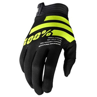100% 2020 ITRACK GLOVES BLACK/FLUORO YELLOW