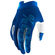 100% ITRACK GLOVES BLUE/NAVY YOUTH