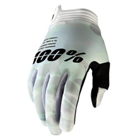 100% 2020 ITRACK GLOVES WHITE CAMO