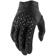 100% 2020 AIRMATIC GLOVES BLACK CHARCOAL YOUTH