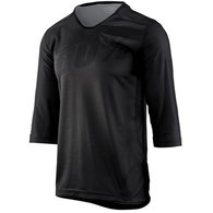 100% AIRMATIC 3/4 JERSEY BLACK