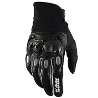 100% DERESTRICTED DUAL SPORT GLOVE BLACK/GREY