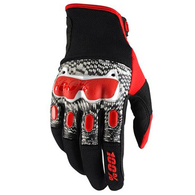 100% DERESTRICTED DUAL SPORT GLOVE BLACK/WHITE/RED