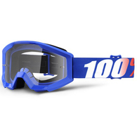 100% STRATA YOUTH MOTO GOGGLE NATION - CLEAR LENS