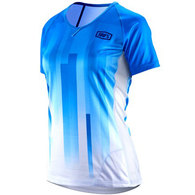 100% WOMENS AIRMATIC JERSEY BLUE WHITE