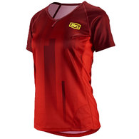 100% WOMENS AIRMATIC JERSEY RED