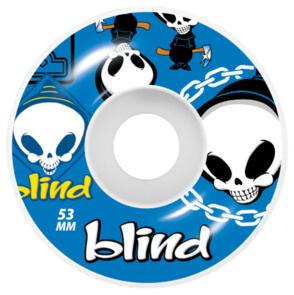 BLIND RANDOM WHEELS 53 BLUE