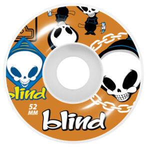 BLIND RANDOM WHEELS 52 ORANGE