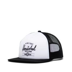 HERSCHEL SUPPLY CO WHALER MESH HAT WHITE/BLACK