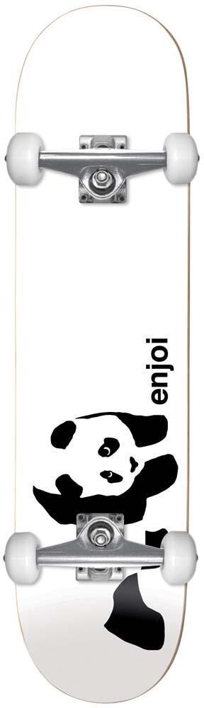 ENJOI WHITEY PANDA COMPLETE FP 7.75 WHT