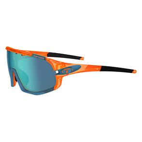 TIFOSI SLEDGE CRYSTAL ORANGE, CLARION BLUE/AC RED/CLEAR LENS