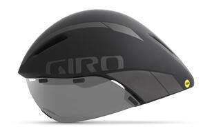 GIRO 2021 AEROHEAD MIPS MAT BLK/TI