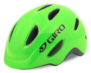 GIRO 2021 YOUTH SCAMP GREEN/LIME LINES