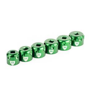 ABBEY TOP CAP SOCKET - SET OF 6._24-26-27-28-30-32MM