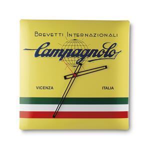 CAMPAGNOLO WALL CLOCK-YELLOW