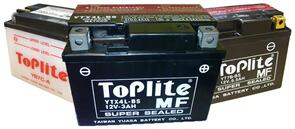 TOPLITE BATTERY YTX7A-BS
