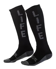ONEAL PRO 22 SOCK RIDE BLK/GRY