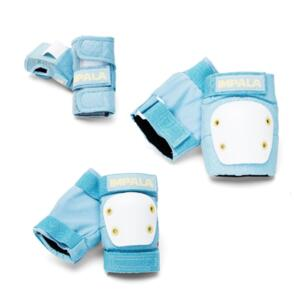 IMPALA SIDEWALK SKATES YOUTH PROTECTIVE PAD SET SKY BLUE YELLOW