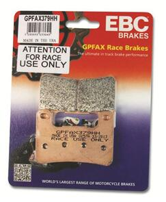 EBC GPFAX663HH SINTERED ROAD RACE ONLY BRAKE PADS NS