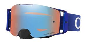 OAKLEY FRONT LINE - MOTO BLUE MX GOGGLES WITH PRIZM SAPPHIRE LENS