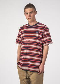 THING THING STRIPED SS TEE RED STRIPE