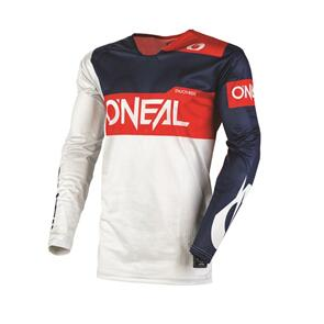 ONEAL 2021 AIRWEAR JERSEY - FREEZ - GRAY/BLUE/RED