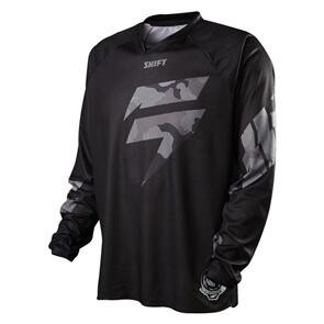 SHIFT RECON LOGO JERSEY [BLACK CAMO]