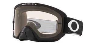 OAKLEY O FRAME 2.0 PRO - MATTE BLACK MX GOGGLES WITH CLEAR LENS