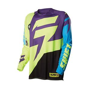 SHIFT FACTION JERSEY [PURPLE/YELLOW]