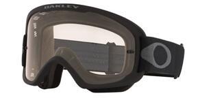 OAKLEY O FRAME 2.0 PRO MTB - BLACK GUNMETAL GOGGLES WITH CLEAR LENS