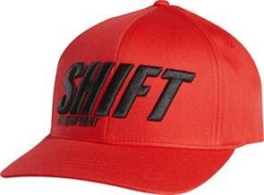 SHIFT SIGHT LINE FLEXFIT HAT [RED]