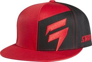 SHIFT CONTRASTED AP SNAPBACK [RED]