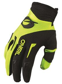 ONEAL 2022 ELEMENT GLOVES - NEON YELLOW/BLACK (YOUTH)