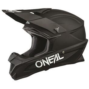 ONEAL 2021 1 SERIES HELMET - SOLID - BLACK
