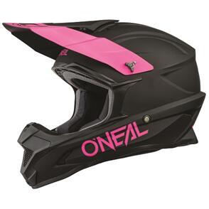ONEAL 2021 1 SERIES HELMET - SOLID - BLACK/PINK